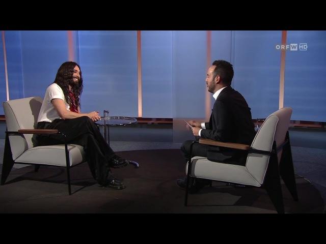 Conchita, ORF2, Wien Heute, 02.12.2017