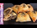 Узбекская самса слоеная домашняя с мясом в духовке Uzbek Samsa recipe