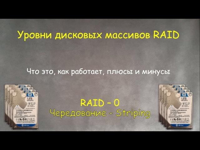 RAID 0 Что это для чего и как его сделать на примере Windows