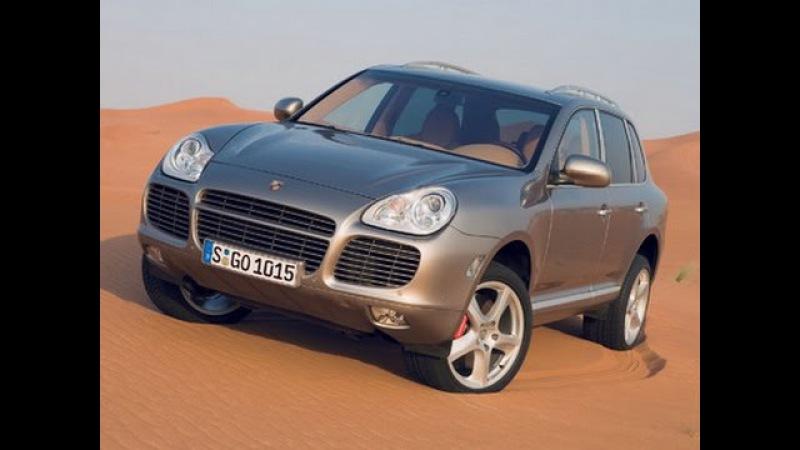 Top Gear обзор Porsche Cayenne Turbo на треке для танков/ Топ Гир тест-драйв Порш Каенн турбо