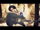 Красивая девушка поёт под гитару.Обалденная песня на гитаре.