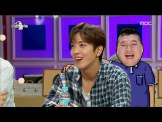 [RADIO STAR]라디오스타-Yong Hwa, Ho-dong and greening, my body hurts ?! 170802