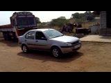 nitish car driving ford ikon - part 1