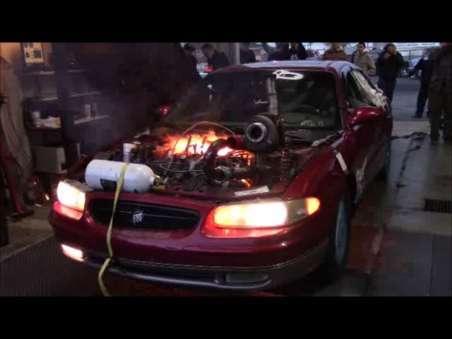 Turbo, Supercharged, and Nitrous Buick Regal Destruction! - Sloppy Mechanics Fall Dyno Day 2015