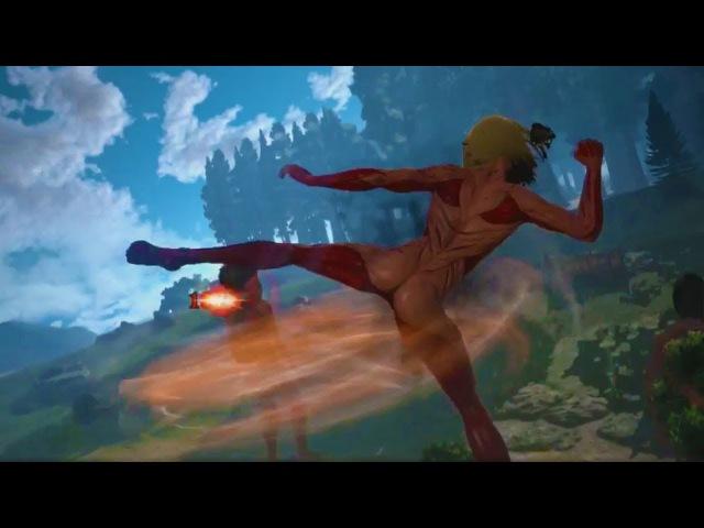 Attack on Titan 2 Female Titan Gameplay, Bertolt-Reiner Cutscene and More!