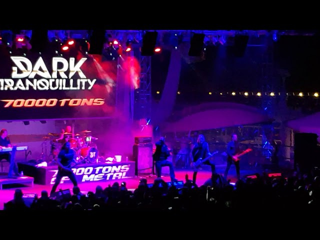 Dark Tranquility Atoma Live 70.000 Tons of Metal Feb 2nd 2018