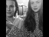 AMAZING Millie Bobby Brown &amp Sadie Sink Singing