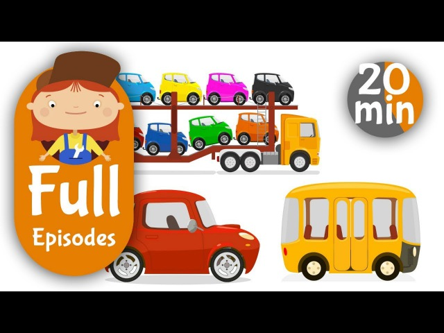 Kids Cartoon Compilation 9. The Car Doctor Cars