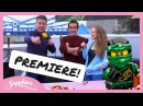 The LEGO NINJAGO MOVIE PREMIERE with DICK & DOM and JADE JONES!