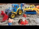 Мультики свинка пеппа и Гонщик щенячий патруль в песочнице Джордж Pig Peppa улетел н...