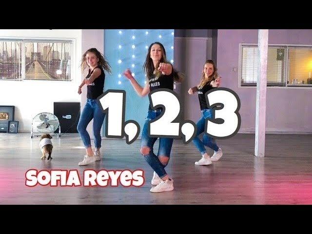 1, 2, 3 - Sofia Reyes - ft Jason Derulo - Easy Fitness Dance Choreography - Baile - Coreografia