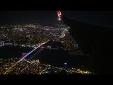 Заход и посадка в Стамбуле Boeing 737-800 Turkish Airlines