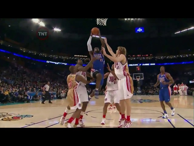 2008 NBA All Star Game Best Plays full game highlights МАТЧ ВСЕХ ЗВЁЗД НБА 08