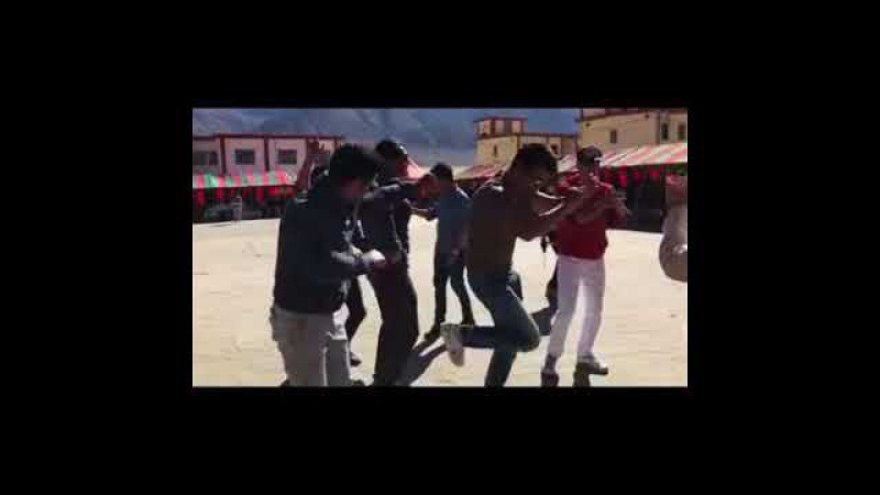 Arjun Rampal in Ladakh with Friends