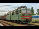 Грузовой поезд №2105 по участку Котовск Одесса