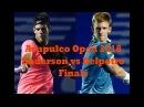 Anderson vs Delpotro Finals ACAPULCO 2018 Highlights