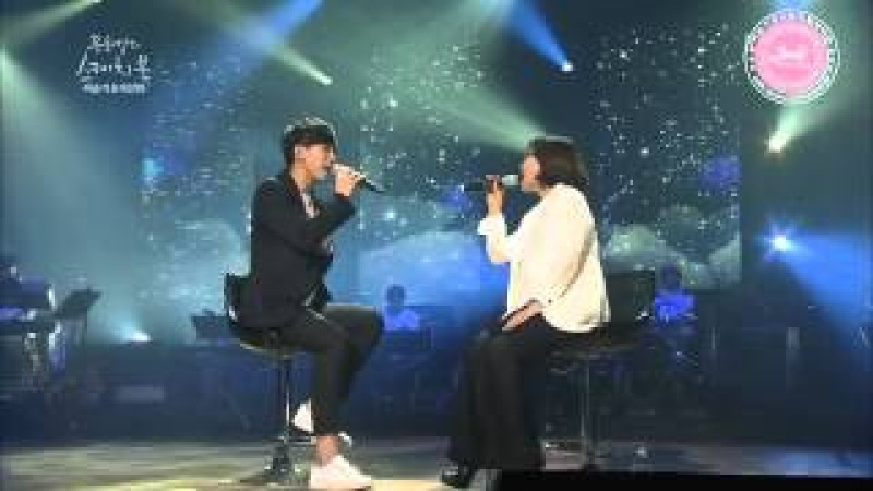[English] Lee Seung Gi ft Lee Sun Hee _ Meet Him Among Them (live) [이승기 이선희 _ 그 중에 그대를 만나 ]