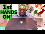 1st Hands On: XBOX ONE X: PROJECT SCORPIO EDITION!