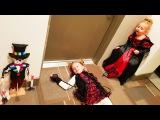Вечеринка Хеллоуин / НАСТОЯЩАЯ КОМНАТА СТРАХА ! НОВЫЙ Клип от Николь и Алисы Hallowee...