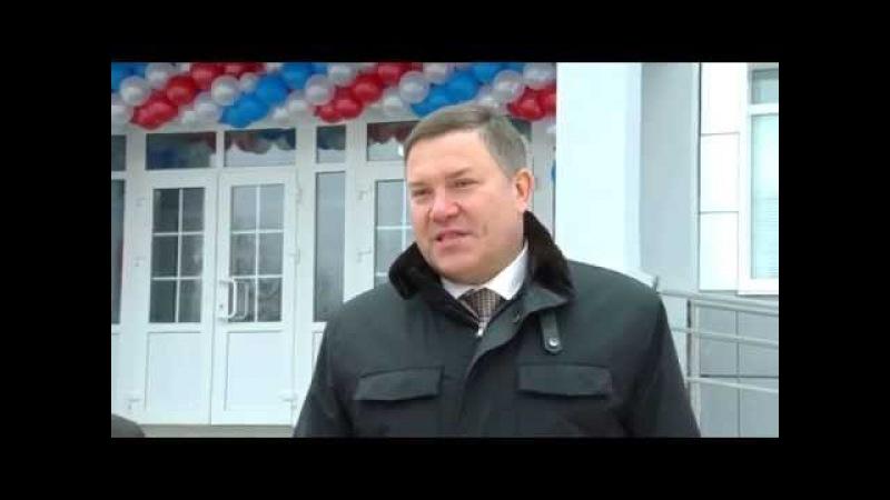 Олег Кувшинников посетил новый детский сад в с.Верховажье