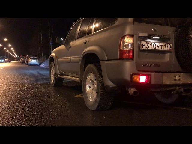 УСКОРЕНИЕ qd32eti c места (замена ZD30 на qd32 на Nissan Patrol Y61)