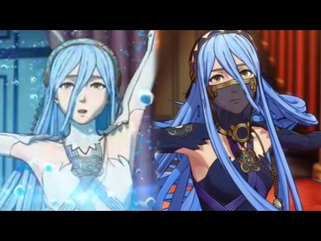 Fire Emblem Fates - Azura's Dance - Hoshido Nohr Versions Cutscenes (English)