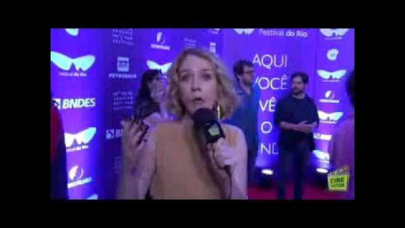 Camila Morgado fala sobre o filme O Animal Cordial ao Cinevitor