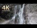 Abkhazia ~ Relaxing nature sounds ~ Slow TV 4K Шакуранский Ольгинский Гегский водопад Рица