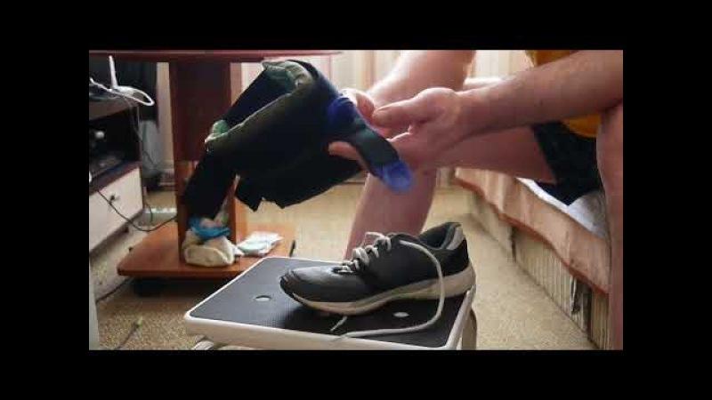 Оретезы на голеностопный сустав - шнуровка обуви