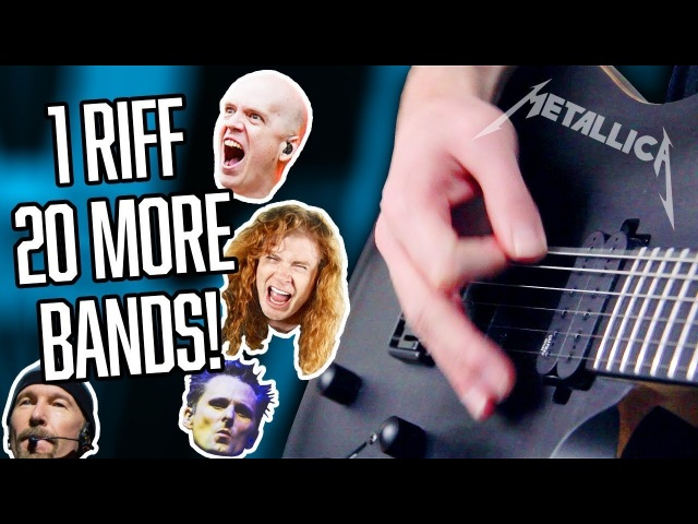 1 Riff 20 More Bands! | Pete Cottrell