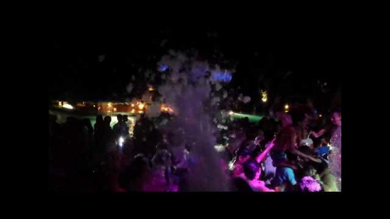 Hotel LTI Mahdia Beach, Tunisia mousse party