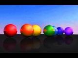 Разноцветные шары - Развивающий мультик