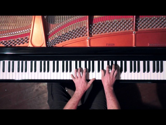 Debussy Arabesques 12 - overhead keyboard view score