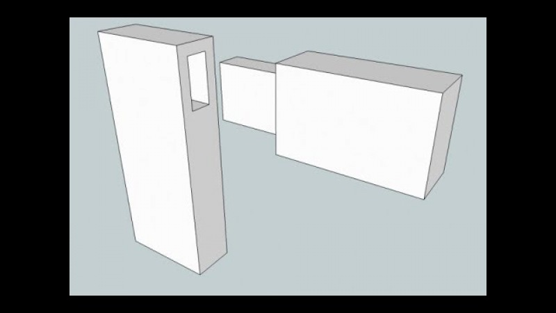 How To Make A Mortise And Tenon In SketchUp