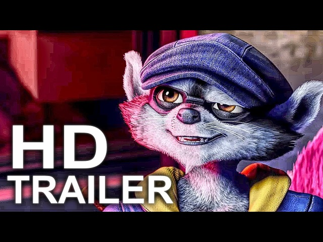 SLY COOPER Movie Trailer 1 (2018) Animated Movie HD
