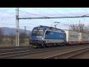 Nákladní vlaky Lipník nad Bečvou 18 11 2017