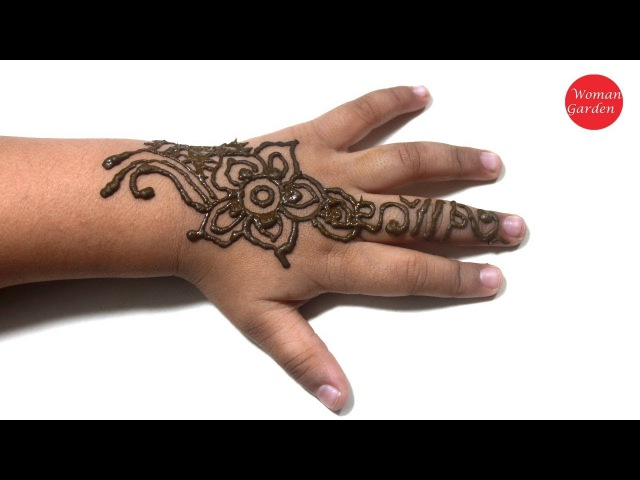 Easy Kids Mehndi Designs For Hands | Woman Garden