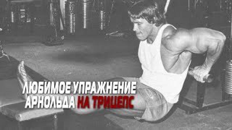Любимое упражнение АРНОЛЬДА на ТРИЦЕПС [забытые упражнения]