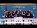 Metropolitan Commercial Bank Rings the NYSE Opening Bell - New York Stock Exchange