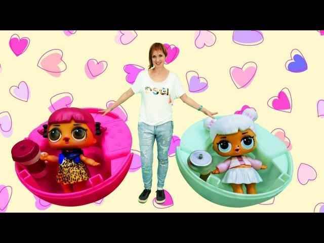 Детский сад Капуки Кануки. Видео про куклы ЛОЛ.