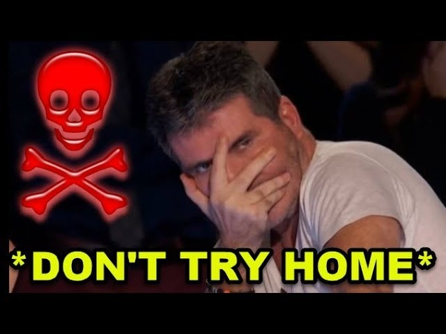 Top 10 *MOST DANGEROUS DON'T TRY HOME* Auditions I Can't Watch This