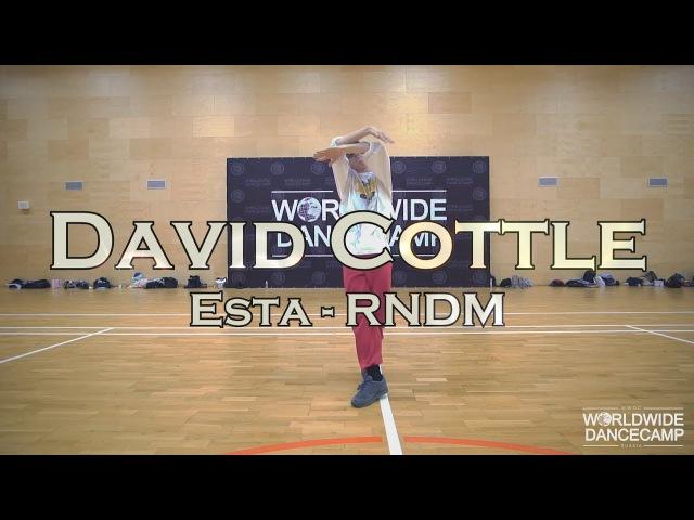 DAVID COTTLE || Esta - RNDM || Worldwide Dance Camp 2017 || Russia