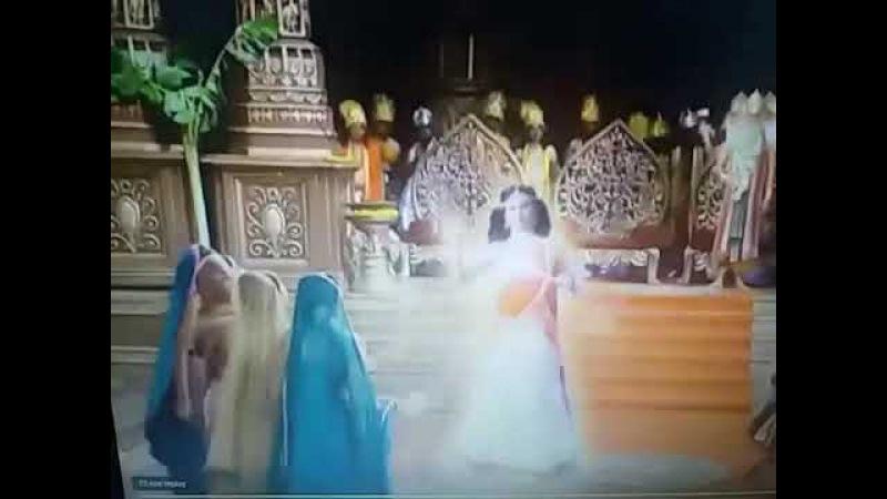 DKDM SATI SHOWS HERSELF AS ADISHAKTI