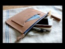 Leather Crafting Making an EDC Zipper Pouch