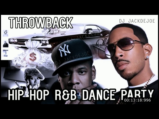 Hip Hop RB Old School Dance Party Video Mix Best Old School Hip Hop Rap RnB 2000s Throwback 2