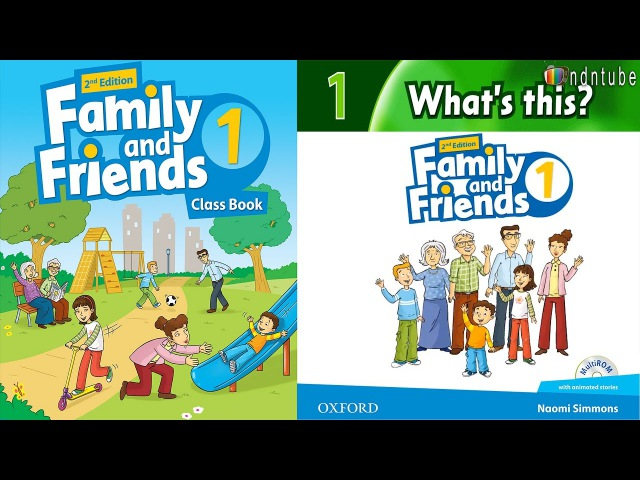 FAMILY AND FRIENDS 1: WHAT'S THIS?