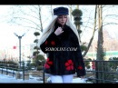 Video encrusted coats Nowicki 100% exclusive bright red 2018 trend handbag as a gift