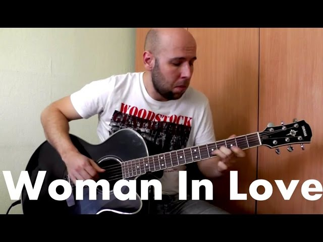 Woman in Love - Fingerstyle Guitar Cover (Barbra Streisand)