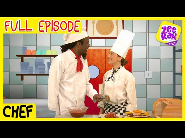 Let's Play: Chefs | FULL EPISODE | ZeeKay Junior