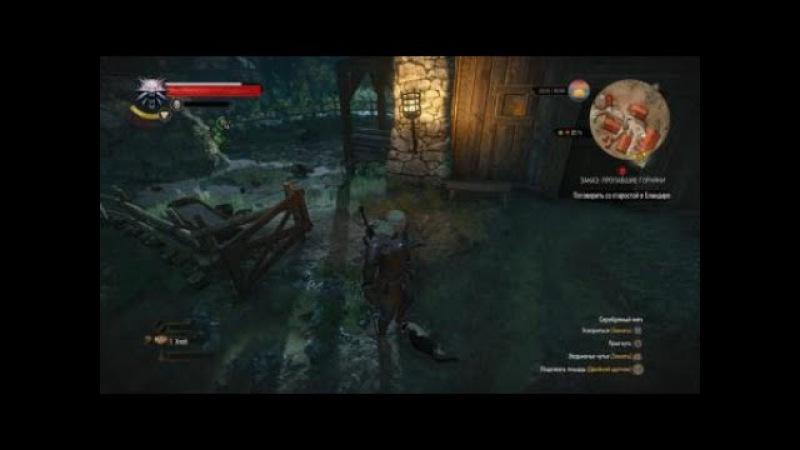 Ведьмак 3 Дикая Охота Безпощадное убийство кота